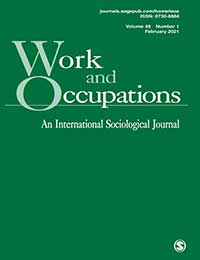 Work and Occupations Journal Cover